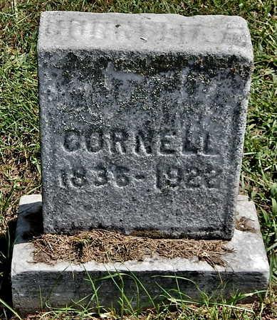 CORNELL, CORNELIA - Calhoun County, Michigan | CORNELIA CORNELL - Michigan Gravestone Photos