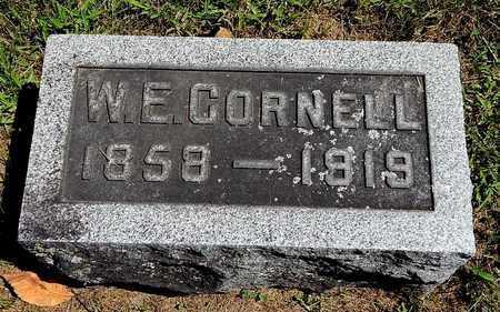 CORNELL, WILLIAM E - Calhoun County, Michigan   WILLIAM E CORNELL - Michigan Gravestone Photos