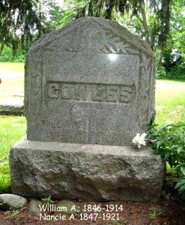 COWLES, NANCIE - Calhoun County, Michigan   NANCIE COWLES - Michigan Gravestone Photos