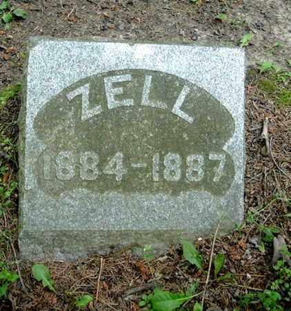 COWLES, ZELL - Calhoun County, Michigan | ZELL COWLES - Michigan Gravestone Photos