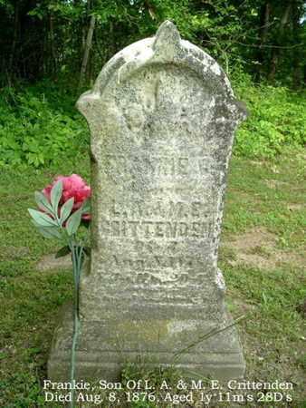 CRITTENDEN, FRANKIE - Calhoun County, Michigan   FRANKIE CRITTENDEN - Michigan Gravestone Photos