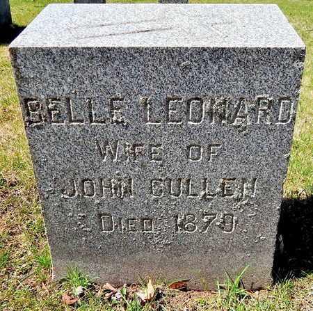 CULLEN, BELLE - Calhoun County, Michigan | BELLE CULLEN - Michigan Gravestone Photos