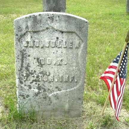 CULLEN, JOHN - Calhoun County, Michigan   JOHN CULLEN - Michigan Gravestone Photos