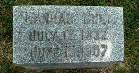 CULP, HANNAH - Calhoun County, Michigan | HANNAH CULP - Michigan Gravestone Photos