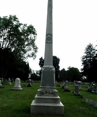 CULP, MONUMENT - Calhoun County, Michigan | MONUMENT CULP - Michigan Gravestone Photos