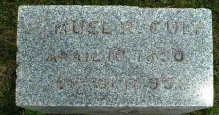 CULP, SAMUEL - Calhoun County, Michigan   SAMUEL CULP - Michigan Gravestone Photos