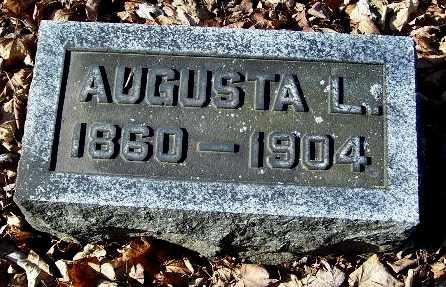 CUMMINGS, AUGUSTA L - Calhoun County, Michigan | AUGUSTA L CUMMINGS - Michigan Gravestone Photos