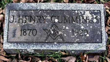 CUMMINGS, J. HENRY - Calhoun County, Michigan | J. HENRY CUMMINGS - Michigan Gravestone Photos