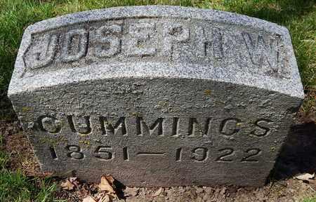 CUMMINGS, JOSEPHINE W - Calhoun County, Michigan | JOSEPHINE W CUMMINGS - Michigan Gravestone Photos