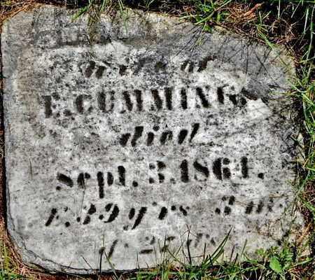 CUMMINGS, MARY - Calhoun County, Michigan | MARY CUMMINGS - Michigan Gravestone Photos
