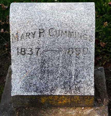 CUMMINGS, MARY P - Calhoun County, Michigan   MARY P CUMMINGS - Michigan Gravestone Photos