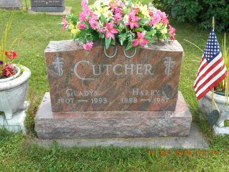 CUTCHER, GLADYS - Calhoun County, Michigan | GLADYS CUTCHER - Michigan Gravestone Photos