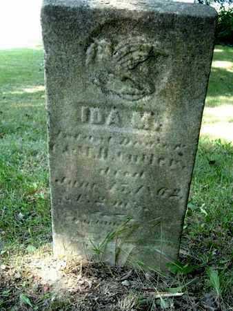 CUTLER, IDA M. - Calhoun County, Michigan   IDA M. CUTLER - Michigan Gravestone Photos