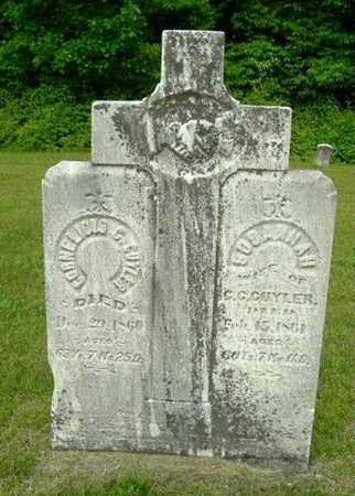 CUYLER, CORNELIOUS G. - Calhoun County, Michigan | CORNELIOUS G. CUYLER - Michigan Gravestone Photos