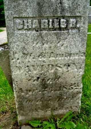 DAVIDSON, CHARLES B - Calhoun County, Michigan | CHARLES B DAVIDSON - Michigan Gravestone Photos