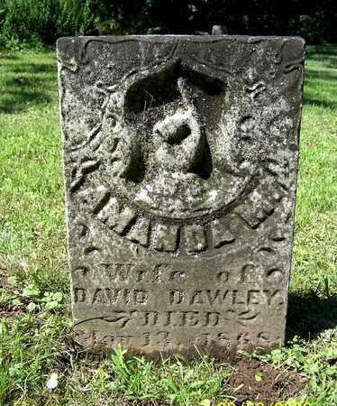 DAWLEY, AMANDA - Calhoun County, Michigan | AMANDA DAWLEY - Michigan Gravestone Photos