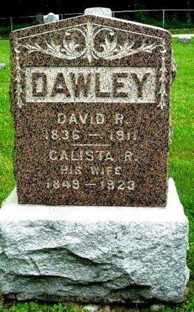 DAWLEY, CALISTA - Calhoun County, Michigan | CALISTA DAWLEY - Michigan Gravestone Photos