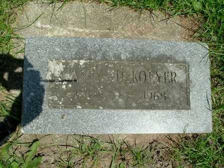DEKOEYER, CASEY - Calhoun County, Michigan | CASEY DEKOEYER - Michigan Gravestone Photos