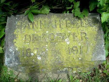 DEKOEYER, HANNAH BELL - Calhoun County, Michigan | HANNAH BELL DEKOEYER - Michigan Gravestone Photos