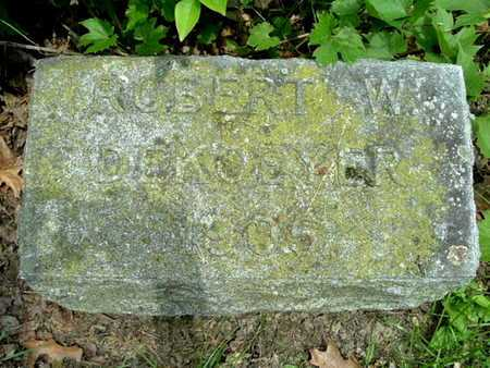 DEKOEYER, ROBERT W. - Calhoun County, Michigan | ROBERT W. DEKOEYER - Michigan Gravestone Photos