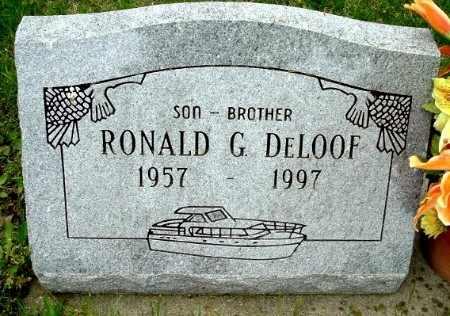 DELOOF, RONALD G - Calhoun County, Michigan | RONALD G DELOOF - Michigan Gravestone Photos