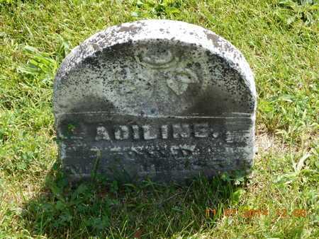 DEMING, ADILINE - Calhoun County, Michigan   ADILINE DEMING - Michigan Gravestone Photos