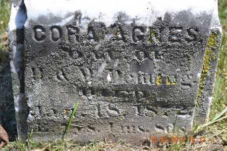 DEMING, CORA AGNES - Calhoun County, Michigan | CORA AGNES DEMING - Michigan Gravestone Photos