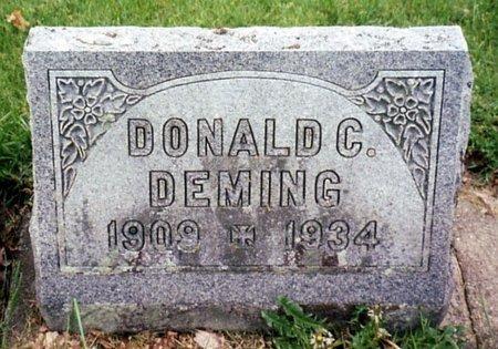 DEMING, DONALD - Calhoun County, Michigan | DONALD DEMING - Michigan Gravestone Photos
