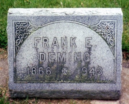 DEMING, FRANK - Calhoun County, Michigan | FRANK DEMING - Michigan Gravestone Photos