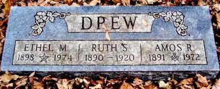 DREW, RUTH S - Calhoun County, Michigan | RUTH S DREW - Michigan Gravestone Photos