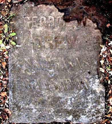 DREW, GEORGE W - Calhoun County, Michigan | GEORGE W DREW - Michigan Gravestone Photos