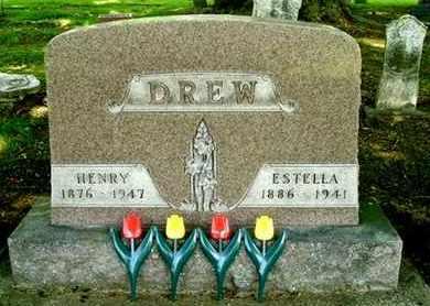 DREW, ESTELLA - Calhoun County, Michigan | ESTELLA DREW - Michigan Gravestone Photos