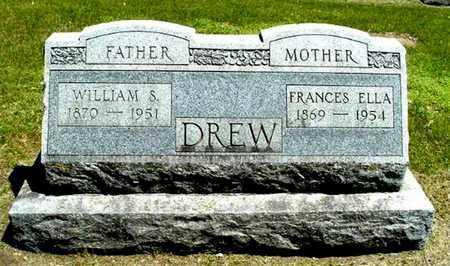 DREW, WILLIAM S - Calhoun County, Michigan | WILLIAM S DREW - Michigan Gravestone Photos