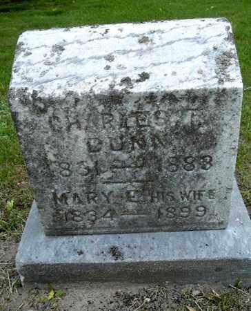 DUNN, MARY - Calhoun County, Michigan   MARY DUNN - Michigan Gravestone Photos