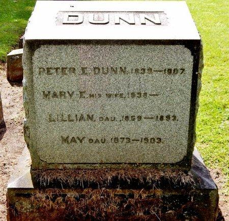DUNN, MARY E - Calhoun County, Michigan | MARY E DUNN - Michigan Gravestone Photos
