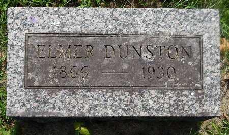 DUNSTON, ELMER - Calhoun County, Michigan | ELMER DUNSTON - Michigan Gravestone Photos