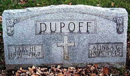 DUPOFF, ALINKA G - Calhoun County, Michigan | ALINKA G DUPOFF - Michigan Gravestone Photos
