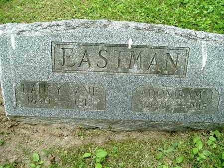 EASTMAN, NANCY - Calhoun County, Michigan | NANCY EASTMAN - Michigan Gravestone Photos