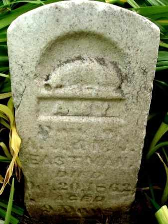 EASTMAN, AMY - Calhoun County, Michigan | AMY EASTMAN - Michigan Gravestone Photos