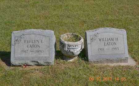 EATON, WILLIAM H. - Calhoun County, Michigan | WILLIAM H. EATON - Michigan Gravestone Photos