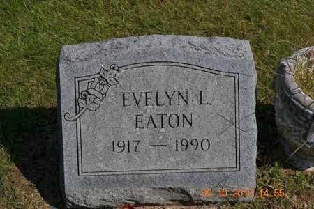 EATON, EVELYN L. - Calhoun County, Michigan | EVELYN L. EATON - Michigan Gravestone Photos