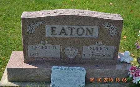 EATON, ROBERTA - Calhoun County, Michigan | ROBERTA EATON - Michigan Gravestone Photos