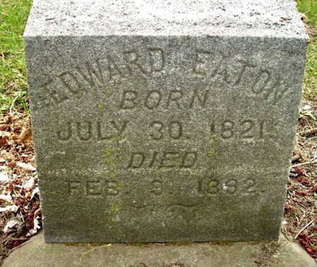 EATON, EDWARD - Calhoun County, Michigan | EDWARD EATON - Michigan Gravestone Photos