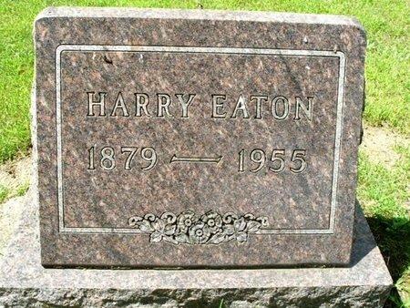 EATON, HARRY - Calhoun County, Michigan | HARRY EATON - Michigan Gravestone Photos