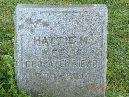 EITNIEAR, HATTIE M. - Calhoun County, Michigan | HATTIE M. EITNIEAR - Michigan Gravestone Photos