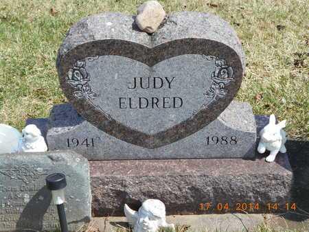 ELDRED, JUDY - Calhoun County, Michigan | JUDY ELDRED - Michigan Gravestone Photos