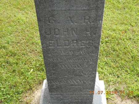 ELDRED, JOHN H. - Calhoun County, Michigan | JOHN H. ELDRED - Michigan Gravestone Photos