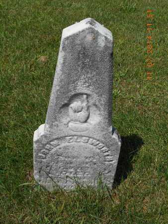 ELSWORTH, JOHN - Calhoun County, Michigan | JOHN ELSWORTH - Michigan Gravestone Photos