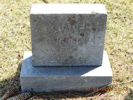 ENOS, ADELE - Calhoun County, Michigan   ADELE ENOS - Michigan Gravestone Photos