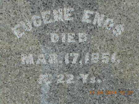 ENOS, EUGENE - Calhoun County, Michigan | EUGENE ENOS - Michigan Gravestone Photos